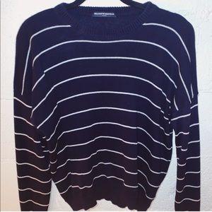NWT Brandy Striped Sweater